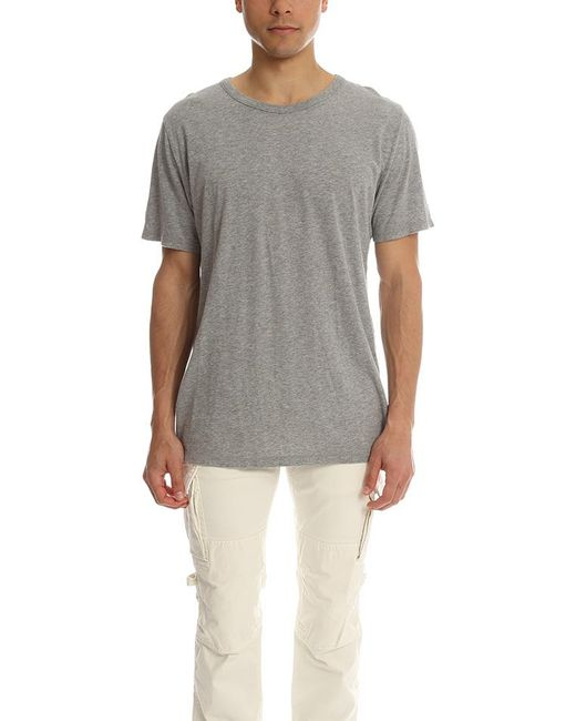 Alexander Wang - Gray T By Pima Cotton Classic T for Men - Lyst
