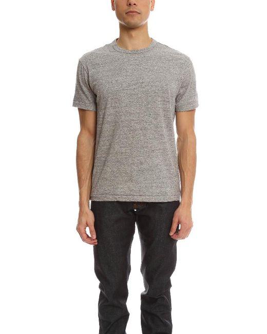 Todd Snyder - Gray Basic T-shirt for Men - Lyst