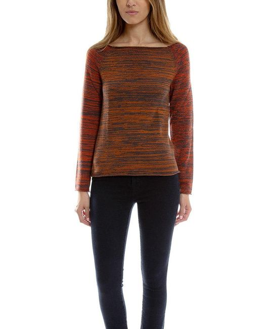 Thakoon - Brown Boatneck Sweater - Lyst