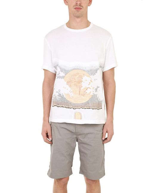 Maharishi | White Moon Slouch Tee for Men | Lyst