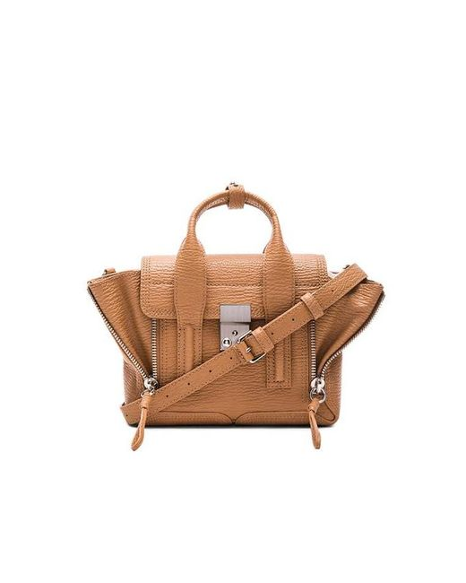 3.1 Phillip Lim - Brown Pashli Mini Satchel - Lyst