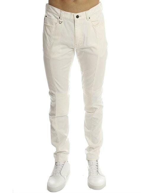 Ones Stroke | Natural One Stroke Super Stretch Skinny Pant White for Men | Lyst