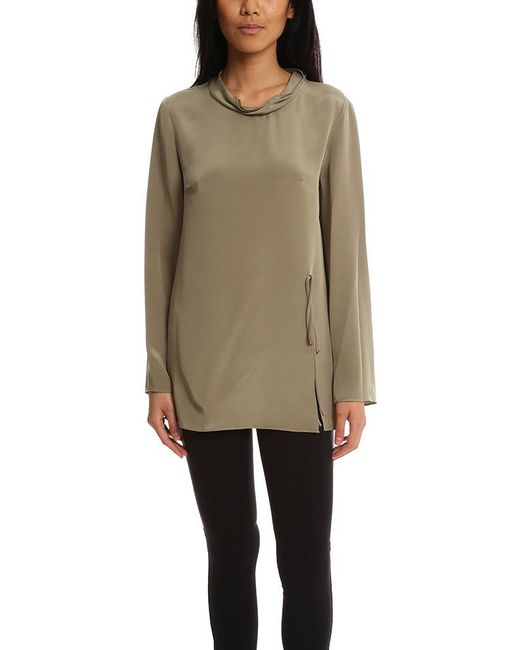 3.1 Phillip Lim - Green Ls Blouse With Flared Sleeve - Lyst