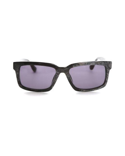 Raf Simons Gray Marble Sunglasses
