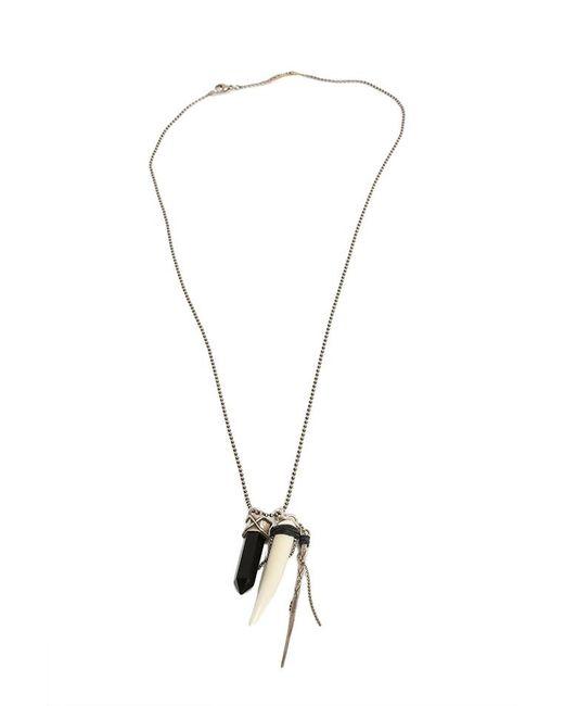 Chan Luu | Black Onyx Crystal Dagger Necklace | Lyst