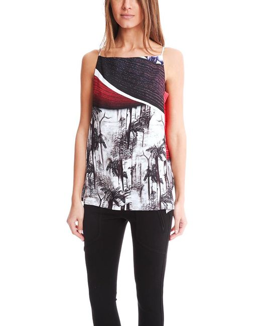 Clover Canyon - Multicolor Forbidden Forest Draped Camisole - Lyst