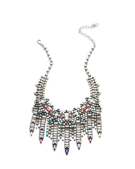 DANNIJO Metallic Desi Necklace