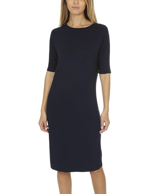 Majestic Filatures - Blue French Terry Dress - Lyst