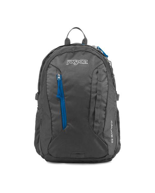 Jansport Black Agave Forge Grey Backpack for men