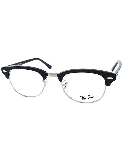 Ray-Ban - Black Clubmaster Plastic Eyeglasses - Lyst