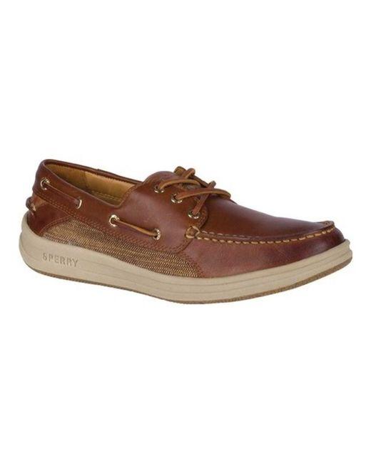 Sperry Top-Sider - Brown Men's Gold Gamefish 3-eye Boat Shoe for Men - Lyst