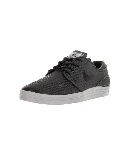 10ba4fdd50b Nike - Multicolor Men s Lunar Stefan Janoski Skate Shoe for Men - Lyst ...