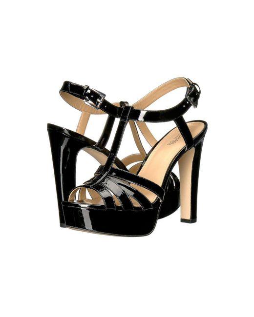 MICHAEL Michael Kors - Black Womens Catalina Open Toe Casual T-strap Sandals - Lyst