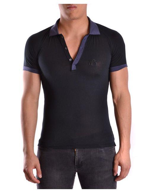 John Galliano   Men's Mcbi130109o Blue Cotton Polo Shirt for Men   Lyst