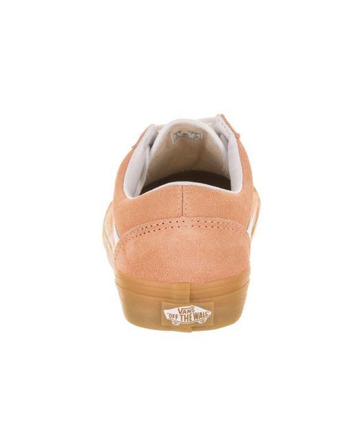 ... Vans - Orange Unisex Old Skool (double Light Gum) Skate Shoe for Men ... edd60fbf3
