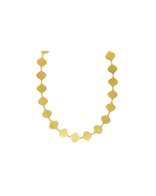 Gurhan - Metallic Clove Flake Short All Around Necklace - Lyst