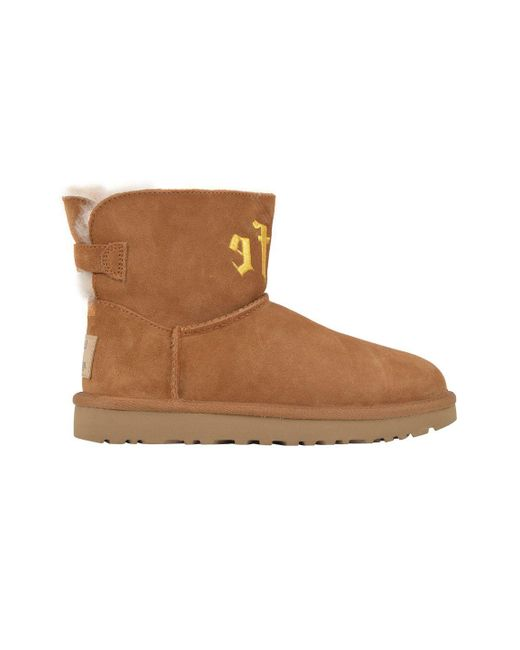 Ugg - Women's Brown Suede Ankle Boots - Lyst