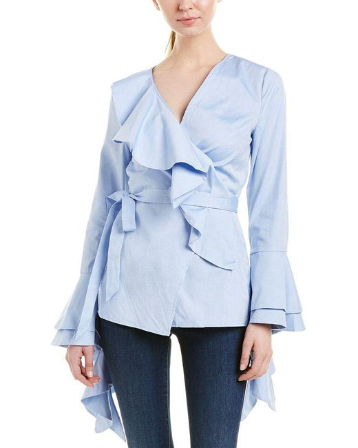 C/meo Collective - Blue Collective Still Standing Top - Lyst