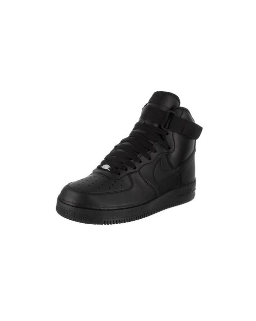 Nike | Black Men's Air Force 1 High '07 Basketball Shoe for Men | Lyst ...