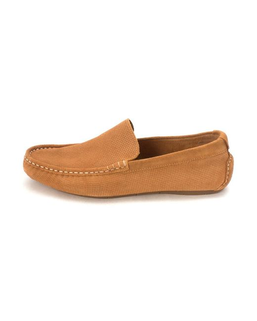 Cole Haan - Brown Mens Hyattsam Closed Toe Slip On Shoes for Men - Lyst