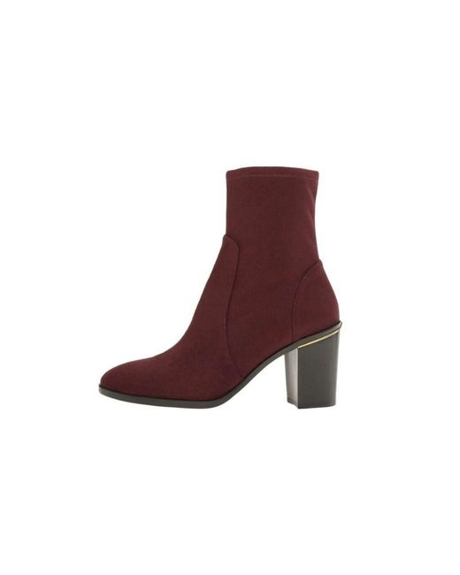 MICHAEL Michael Kors - Purple Womens Chase Ankle Boot Almond Toe Ankle Fashion Boots - Lyst