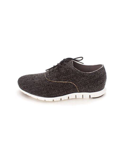 Cole Haan - Gray Womens Gaylesam Low Top Lace Up Fashion Sneakers - Lyst