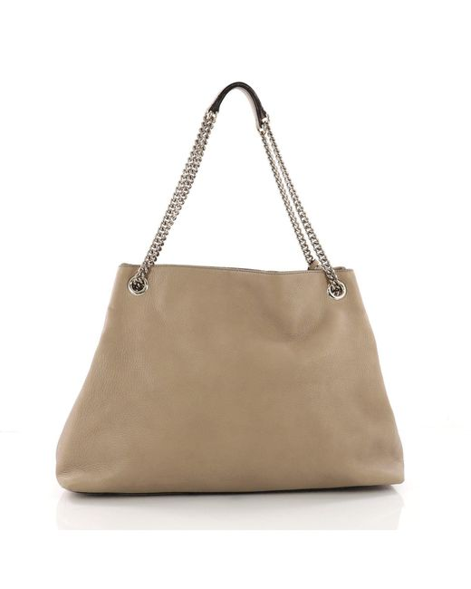 ... Gucci - Multicolor Pre Owned Soho Chain Strap Shoulder Bag Leather  Large - Lyst ... 0399d22cbc45d