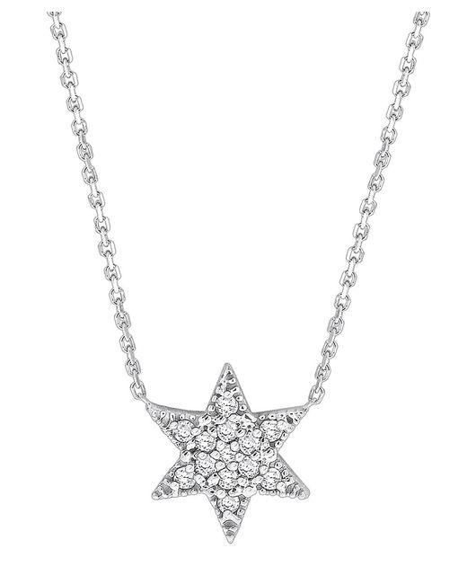 KC Designs | White Brilliant By 14k Gold And Diamond Star Of David Necklace | Lyst