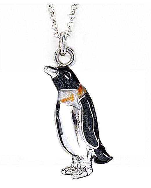 Jan Leslie | Metallic Dapper Penguin Pendant / Charm Necklace | Lyst
