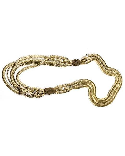 Nicole Romano | Metallic Issai Necklace | Lyst