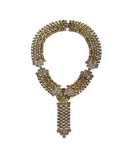 Nicole Romano | Metallic Jinzita Necklace | Lyst