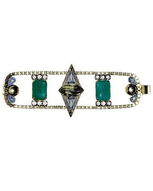 Nicole Romano   Green Mei Bracelet   Lyst
