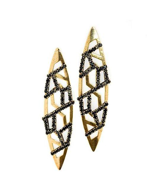 Nicole Romano | Yellow Fuhua Earrings | Lyst