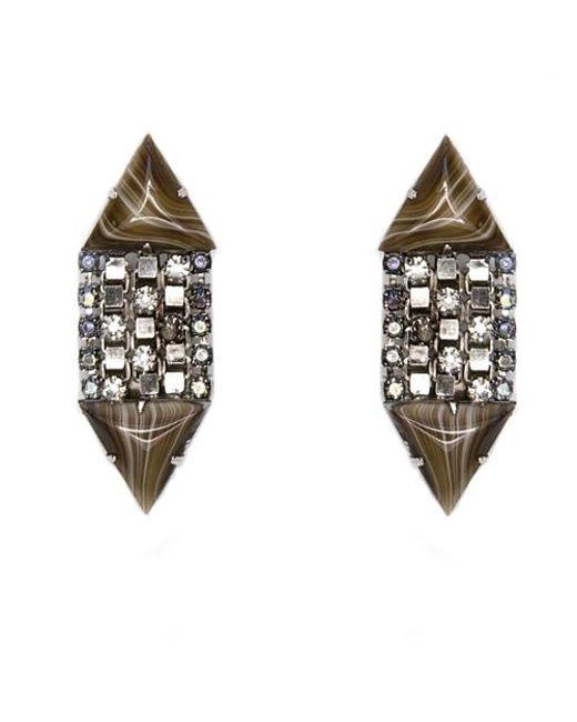 Nicole Romano | Metallic Ticino Earrings | Lyst