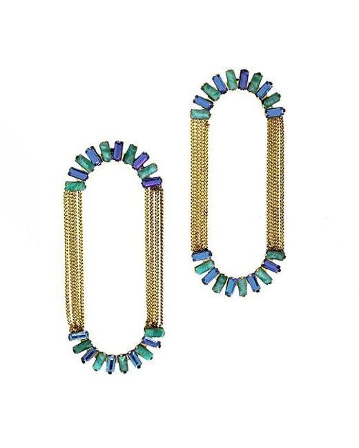 Nicole Romano | Metallic Alvatore Earrings | Lyst