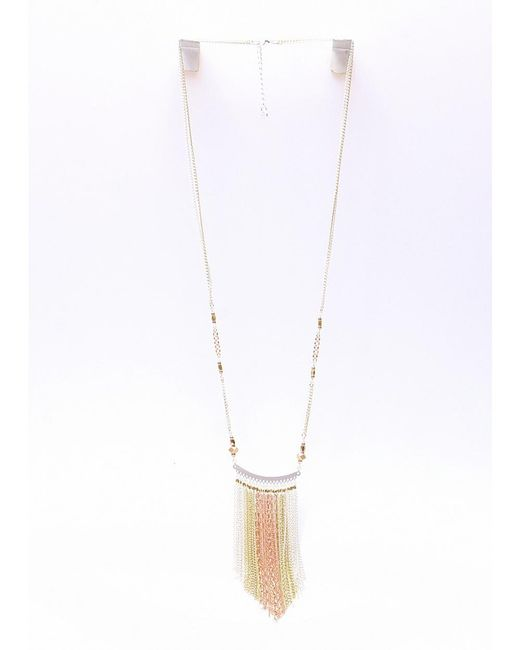 Nakamol   Multicolor Paloma Necklace-silver/gold/copper   Lyst