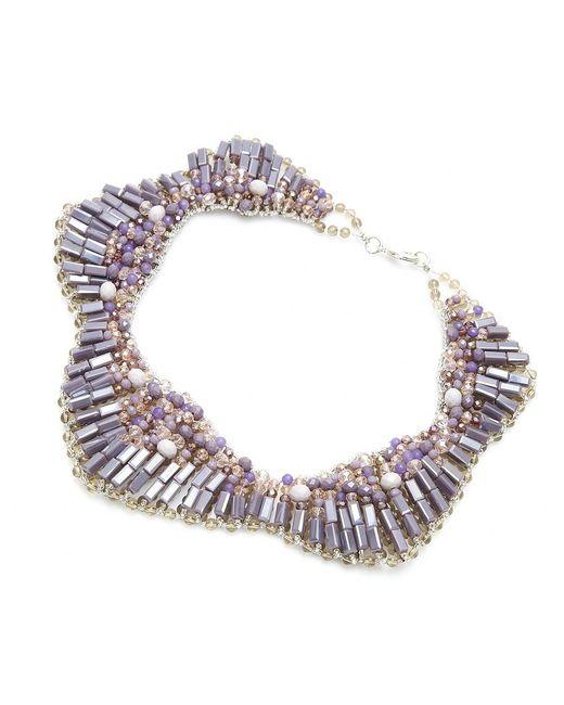 Nakamol   Multicolor Starla Necklace-lavender   Lyst