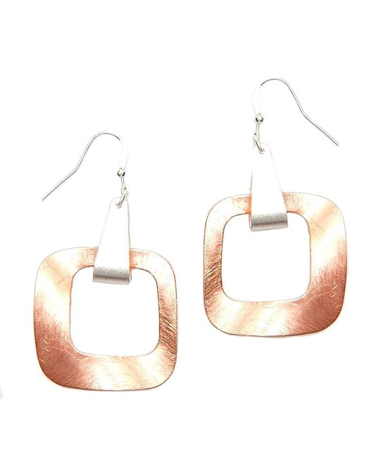 Nakamol | Multicolor Equilibrium Earrings-copper | Lyst