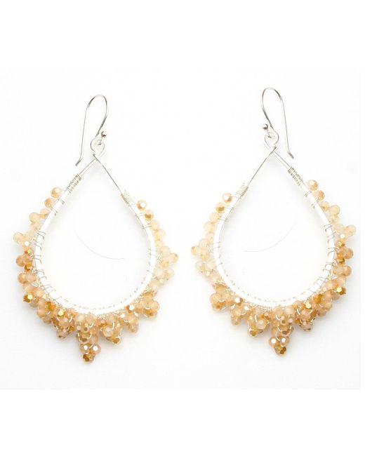 Nakamol | Multicolor Crystal Tears Earrings-fire Opal | Lyst