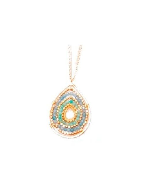 Nakamol | Multicolor Teardrop Pendant-amazonite Mix | Lyst