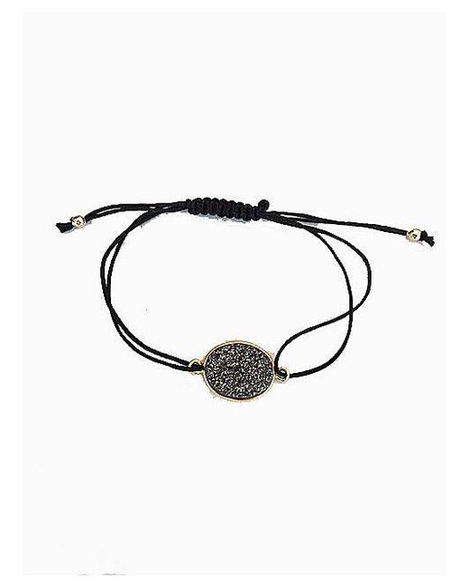 Blue Candy Jewelry   Gray Grey Oval Druzy Bracelet   Lyst