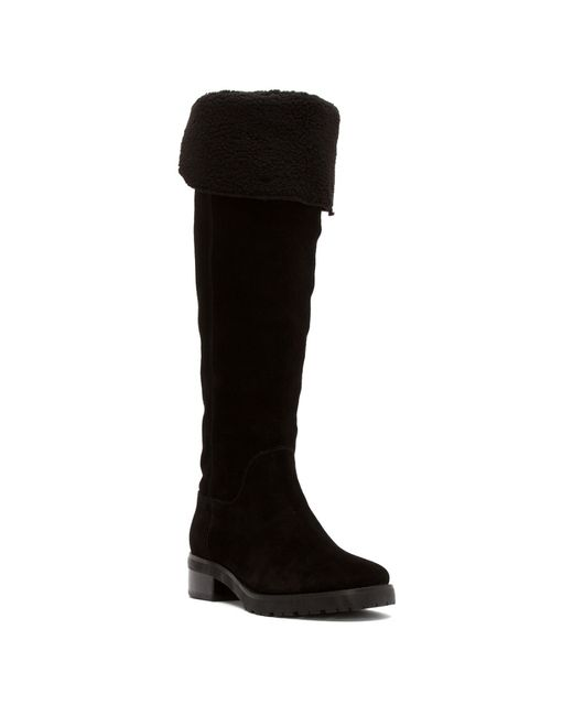 MICHAEL Michael Kors | Black Fulton Harness Knee High Boots | Lyst