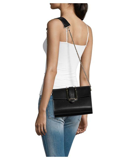 chloe marcie small leather crossbody bag - Chlo�� Black Leather \u0026#39;bronte\u0026#39; Small Shoulder Bag in Black | Lyst