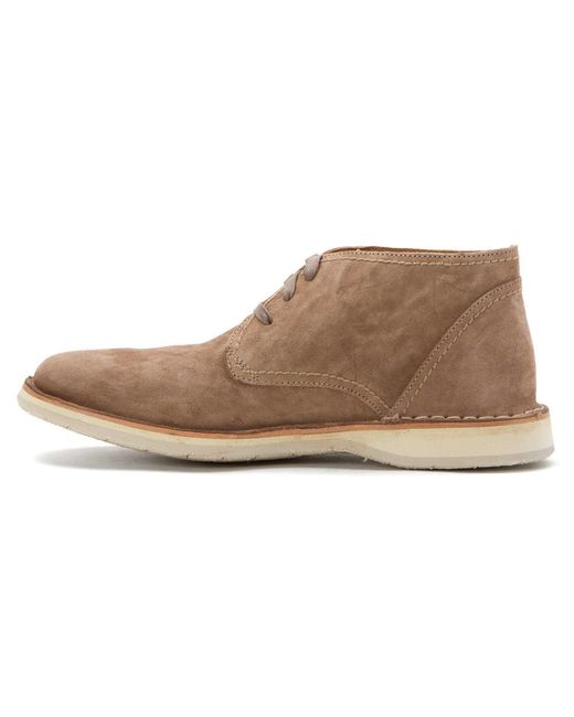 john varvatos mens hipster chukka boot boots in brown for