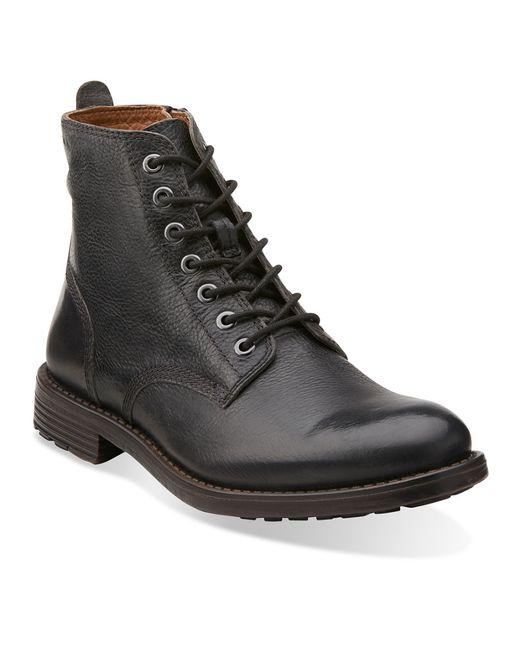 Clarks | Black Men's Faulkner Rise Boots for Men | Lyst
