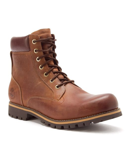 "Timberland | Brown Titan® 6"" Soft Toe for Men 
