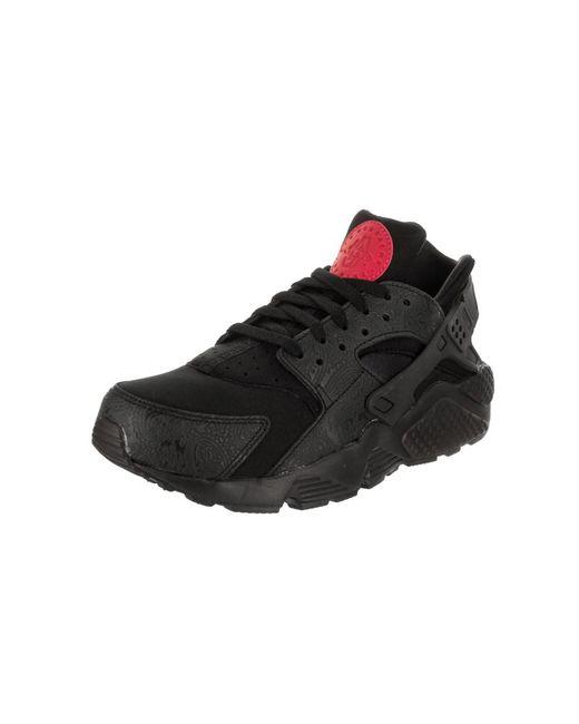 Lyst - Nike Men s Air Huarache Run Floral Running Shoe in Black for Men 18ee313bf