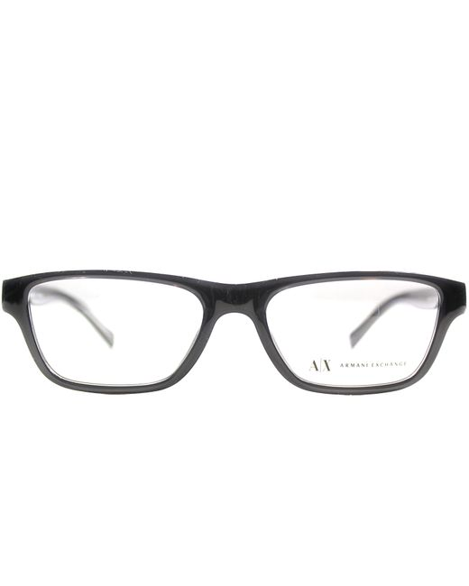 Armani Glasses Frames Boots : Armani exchange Rectangle Plastic Eyeglasses in Black ...