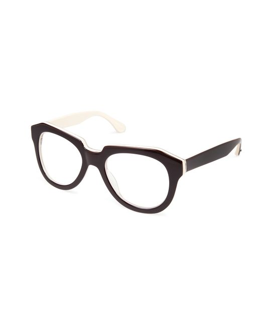 Are Plastic Eyeglass Frames In Style : Cynthia rowley Black Fashion Plastic Eyeglasses in Black ...