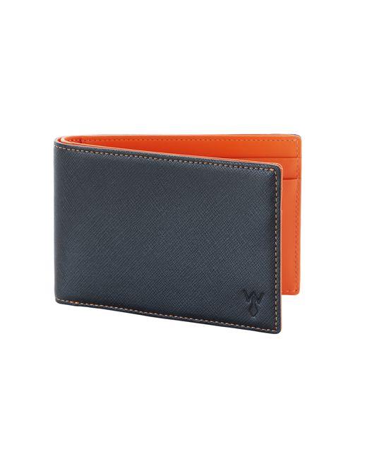 Würkin stiffs Rfid Blocked Slim Wallet in Orange for Men ...
